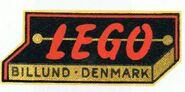 Lego Logo 1954