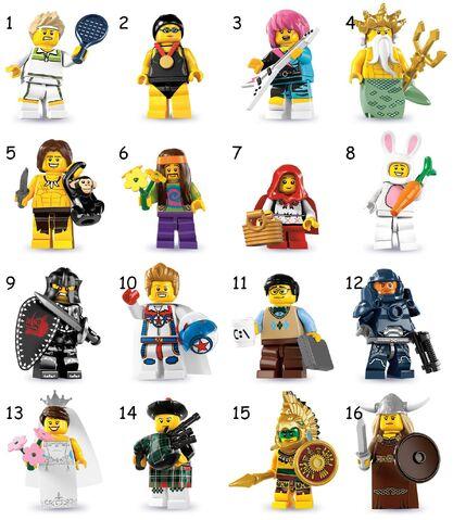 File:Lego Series 7 Minifigures.JPG