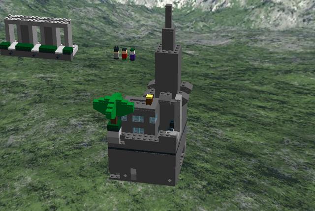 File:Minecraft Batman Gotham City.png
