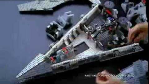 Lego star wars star destroyer commercial
