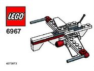 lego arc 170 starfighter 7259 instructions