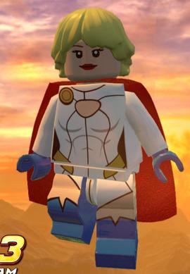 Power Girl Brickipedia Fandom Powered By Wikia