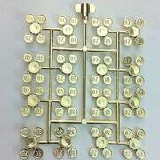Chrome Gold Coins