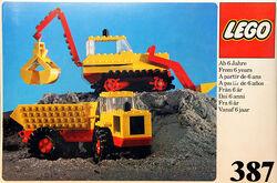 387-Excavator and Dumper