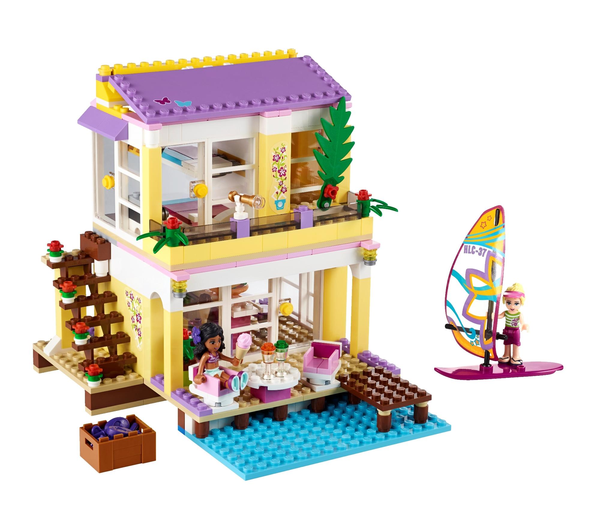41037 la villa sur la plage wiki lego fandom powered for La maison d harmony