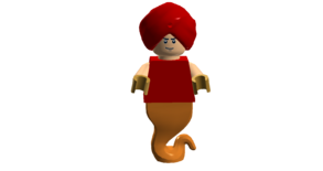 Hot Man Genie