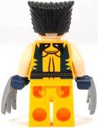 Wolverine back printing