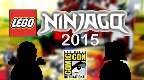 LEGO Ninjago 2015 news - New ninja color, new villain, and less futuristic!