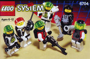 6704 Space Mini Figures