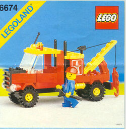 6674 Crane Truck