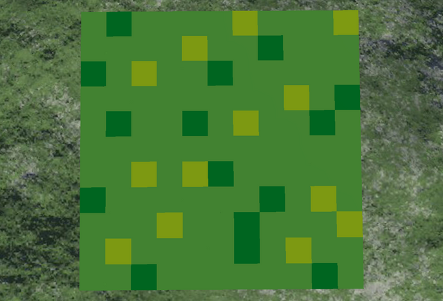 File:Minecraft grass block top.png