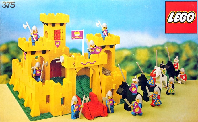Image result for lego castle yellow