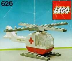 626-2 Red Cross Helicopter