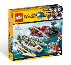 8897 Jagged Jaws Reef box