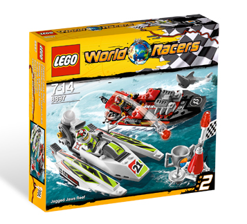 8897 Jagged Jaws Reef box