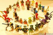 0 All Ninjago Minifigures!!!