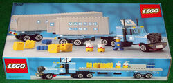 1552-Maersk Line Container Truck Box