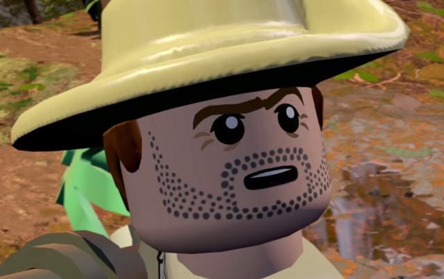 File:LEGO Jurassic World The Videogame Robert Muldoon 2.PNG