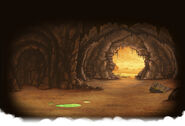Snake Cave Background