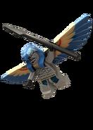Flying mummy
