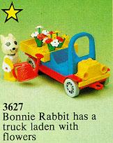 3627 Bonnie Rabbit's Flower Truck