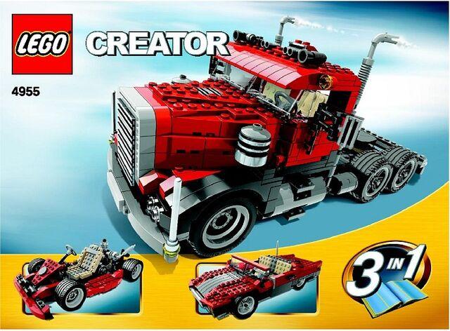 File:LEGO CREATOR BIG RIG 4955.jpg