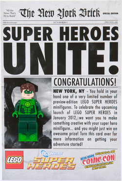 Comic-Con Exclusive Green Lantern Giveaway