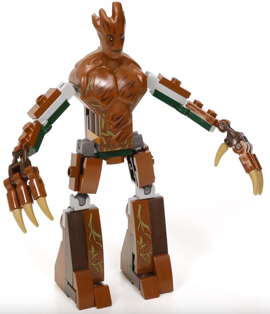 Groot Brickipedia Fandom Powered By Wikia