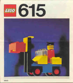 615-Fork Lift with Driver
