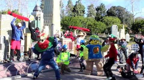 Harlem Shake - LEGOLAND California