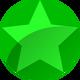 Rating-fa-green-glossy