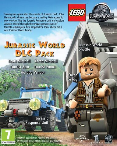 File:LEGO Jurassic World The Videogame DLC pack.jpg