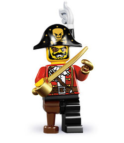 MS8 Pirate Captain