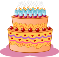 Cake with Tons of Candles