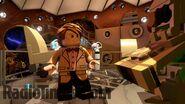 Lego Matt Smith's Tardis