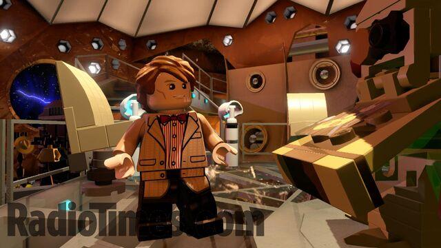 File:Lego Matt Smith's Tardis.jpg