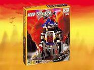 3052 Ninja's Fire Fortress