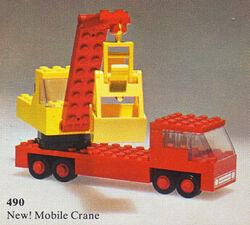 490-Mobile Crane