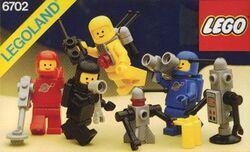 6702-Space Mini-Figures