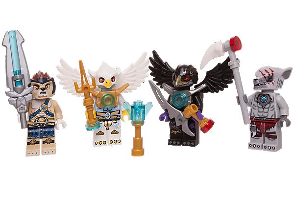 850779 ensemble d 39 accessoires et de figurines legends of - Chima saison 2 ...