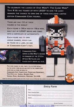 Lego Comm.Cody contest
