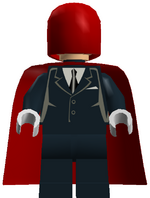 Red Hood (Mr J, in game)