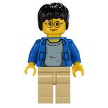 Harry blue jacket