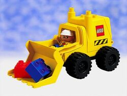 2807 Big Wheels Digger