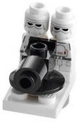 Snow trooper microfig