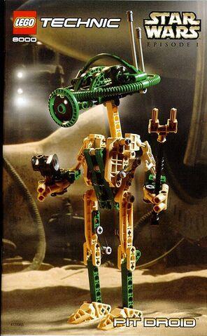 ファイル:8000-2 Technic Pit Droid.jpg