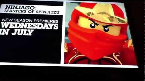 Ninjago season 3 trailer
