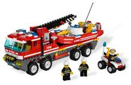 Fire Truck with Fireboat