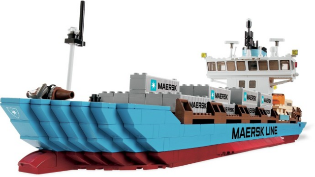 File:Maersk Line Container Ship.png