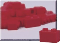 970008-1 x 2 Red Bricks